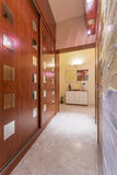 Discreetly hidden storage space of wealthy inhabitants Stock Photography