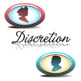Discretion Stock Image