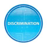 Discrimination floral blue round button royalty free illustration