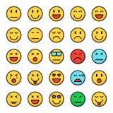 Discrimination raciale parfaite de pixel d'émotion icônes illustration stock