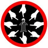 Discrimination religieuse Images libres de droits