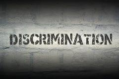 Discrimination WORD GR Royalty Free Stock Image