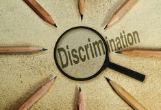 Discrimination Royalty Free Stock Photos