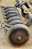 Discs. Of tractor for farming Royalty Free Stock Photo