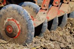 Discs plow Stock Image