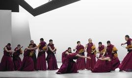 Discurso ` de Cangyangjiacuo del drama de la danza del escolasticismo- `` Foto de archivo libre de regalías