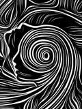 Discurso de líneas internas libre illustration