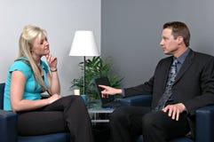 Discurso de vendas Imagem de Stock Royalty Free