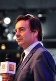 Discurso del ejecutivo de Renault Foto de archivo