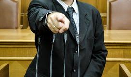 Discurso parlamentar Fotos de Stock