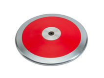 Discus sport tool disc Royalty Free Stock Image