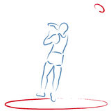 Discus Throw Stock Photos