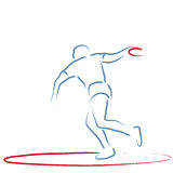 Discus Throw Royalty Free Stock Photo