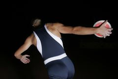 Discus throw Royalty Free Stock Photos