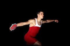 Discus throw Stock Images