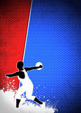 Discus Throw background Stock Image