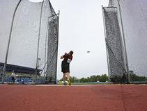 Discus throw male canada Stock Image