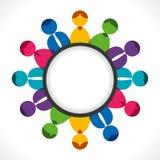 Discusión de grupo de la gente Imagen de archivo libre de regalías