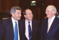 Discusión de la dirección de Demócrata liberal, Londres Imágenes de archivo libres de regalías