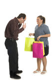Discusión de los pares Fotografía de archivo libre de regalías