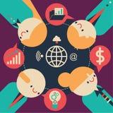 Discusión del negocio Imagen de archivo libre de regalías