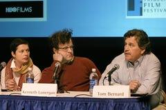 Discusión del panel en el 2do festival de cine de Tribeca Fotos de archivo