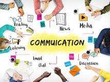 Discusión Team Work Ideas Concept de la comunicación imagenes de archivo