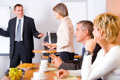 Discusion - Conference Royalty Free Stock Photos