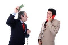Discussão do negócio imagem de stock royalty free
