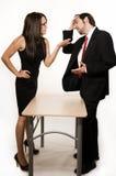 Discussão do negócio Fotografia de Stock Royalty Free