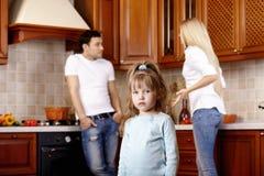 Discussão dos pais fotografia de stock royalty free