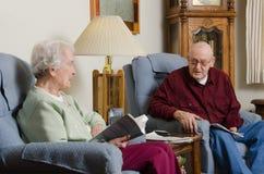 Discussão idosa Foto de Stock