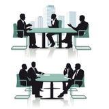 Discussão ou entrevista da conferência Fotos de Stock Royalty Free