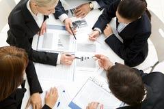Discussing plan Stock Image