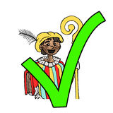 Discussion about so called Dutch Zwarte Piet Royalty Free Stock Photo