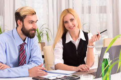 Discussion of Innovative business strategy advantages. The Board of Directors Stock Photo