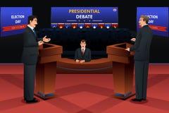 Discussion présidentielle illustration stock