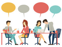 Discussion table Stock Images