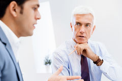 Discussion is the way to solution Stock Photography