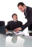 Discussione Immagine Stock