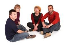 Discussione sul pavimento Fotografia Stock