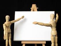 Discussions passionnées Photos stock