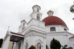 Discutible el icono de Kota Lama Old Town de Semarang, Indonesia Fotos de archivo