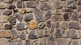 Diseñado con textura de la pared de piedra imagenes de archivo