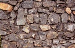 Diseñado con textura de la pared de piedra fotografía de archivo