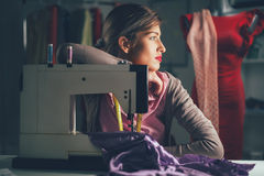 Diseñador de moda joven Thinking Imagen de archivo