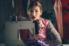 Diseñador de moda joven Thinking Imagen de archivo libre de regalías