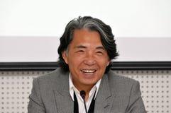 Diseñador de moda Kenzo Takada imagenes de archivo