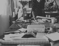 Diseñador de moda Stylish Showroom Concept imagenes de archivo