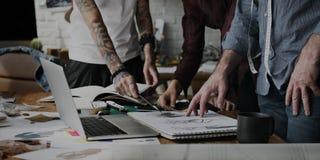 Diseñador de moda Stylish Showroom Concept foto de archivo